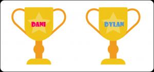 Dani & Dylan Trophy